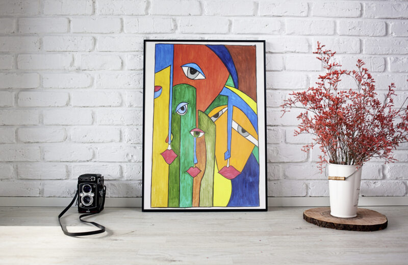 Where to buy Art that will instantly brighten up your place??